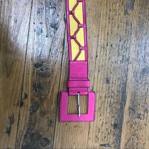 Escada Accessories - Vintage ESCADA leather belt